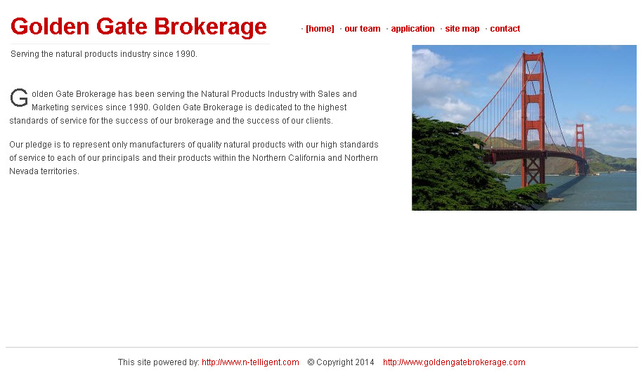 Goldengate Brokerage
